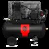 Kép 1/2 - chicago pneumatic 3,0 kW 90 literes ipari dugattyús kompresszor CPRC 490 ns31