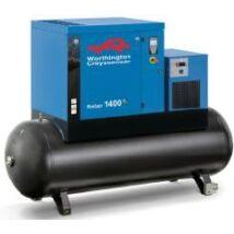 Worthington Creyssensac RLR 1400T TM270 kombinált csavarkompresszor