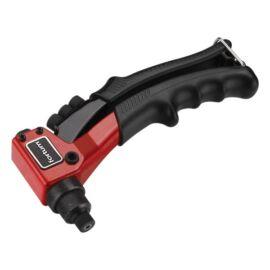 Popszegecshúzó fogó, egykezes, ALU, réz, acél, INOX szegecsekhez; 2,4-3,2-4,0-4,8mm, 200mm, CrVMo fej, FORTUM, 4770600