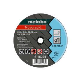 METABO - Novorapid 230x1,9x22,2mm Inox Vágótárcsa - 616274000