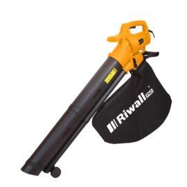 Riwall REBV 3200E  - Elektromos lombszívó/lombfúvó 3200W motorral