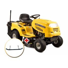 Riwall RLT 92 T - fűnyíró traktor 92 cm vágásszélességgel, fűgyűjtővel és 6-fokozatú Transmatic váltóval