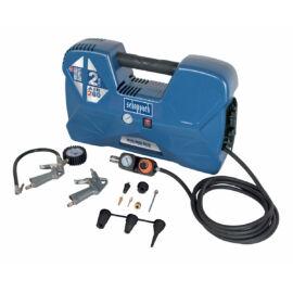 Scheppach Air Case olajmentes táskakompresszor - 1,1 kW, direkthajtás, 2 liter tartály, 1 fázis