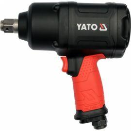 """Légkulcs, 3/4"""", 1630Nm, Twin Hammer, 6,3 Bar, 1/4"""" tömlőcsatlakozó, YATO, YT-09571"""