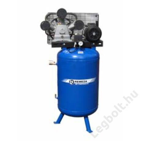 REMEZA SB4/C-90.LB30V Dugattyús kompresszor - 2,2 kW, ékszíjhajtás, 90 liter álló tartály, 3 fázis