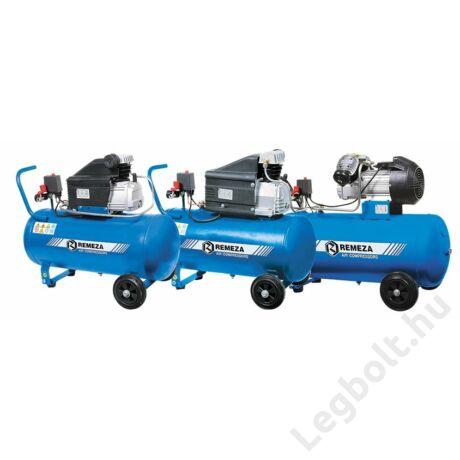 REMEZA SB4/C-90.J2047B Dugattyús kompresszor - 2,2 kW, direkthajtás, 90 liter tartály, 1 fázis