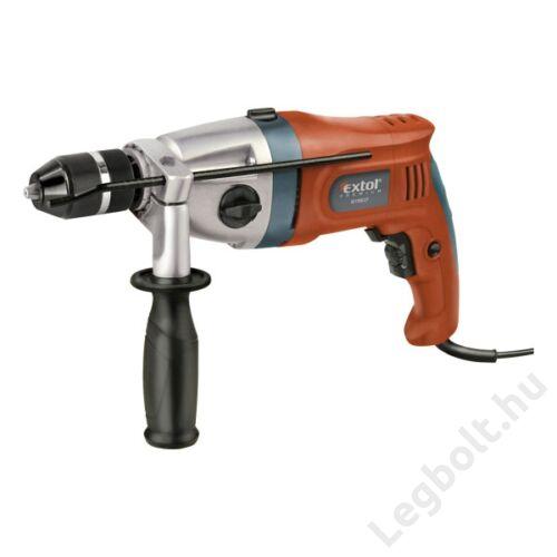 Ütvefúrógép 1100W, extra erős, click-lock gyorstokmány, 2 fokozatú, max. 3000 1/min., ID 1100 CF - Extol Premium  - 8890052
