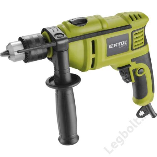 Ütvefúrógép   550W; kulcsos tokmány; max 13mm; 0-3000 1/min; papír doboz  - Extol, 401163