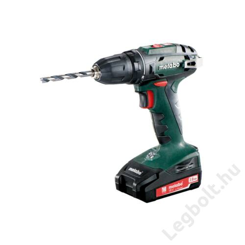 METABO - BS 18  Fúró-csavarozó (2x2,0 Ah, SC 60 Plus, 13mm) - 602207510