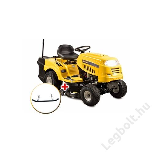 Riwall RLT 92 H - fűnyíró traktor 92 cm vágásszélességgel, fűgyűjtővel és hidrosztatikus váltóval