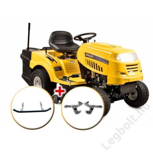 Riwall RLT 92 H POWER KIT - fűnyíró traktor 92 cm vágásszélességgel, fűgyűjtővel és hidrosztatikus váltóval