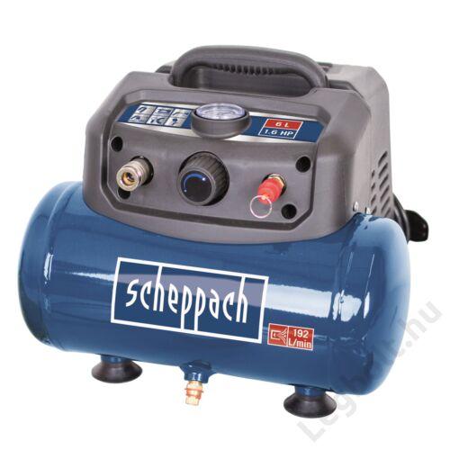 SCHEPPACH HC 06 - Olajmentes kompresszor 6L