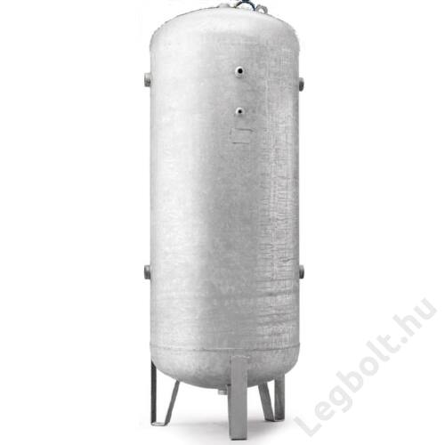 Légtartály, álló, galvanizált, 900 liter, 11 bar