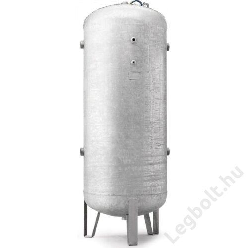 Légtartály, álló, galvanizált, 500 liter, 11 bar
