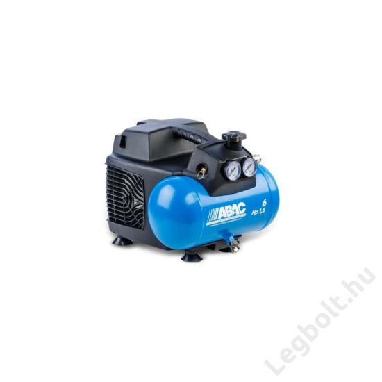 Abac Start O15 dugattyús kompresszor - 1,1 kW, direkthajtás, 6 liter tartály, 1 fázis