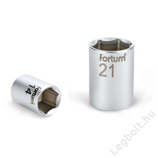 "Dugófej - 1/2"", 30mm, 61CrV5, mattkróm,  44mm hosszú, FORTUM, 4700430"
