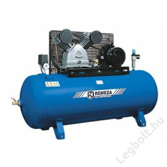 REMEZA SB4/C-90.LB50 Dugattyús kompresszor - 4,0 kW, ékszíjhajtás, 90 liter tartály, 3 fázis