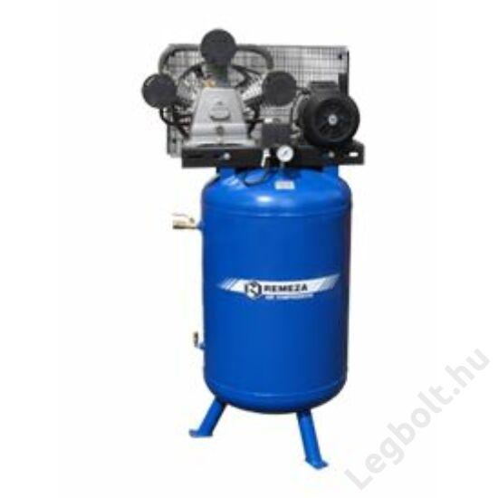 REMEZA SB4/F-270.LT100V  Dugattyús kompresszor - 7,5 kW, ékszíjhajtás, 270 liter álló tartály, 3 fázis