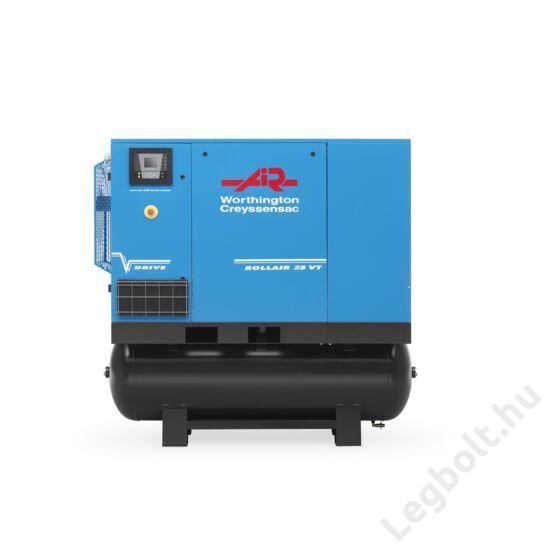 Worthington Creyssensac RLR 20VT 500  frekvenciaváltós, kombinált csavarkompresszor