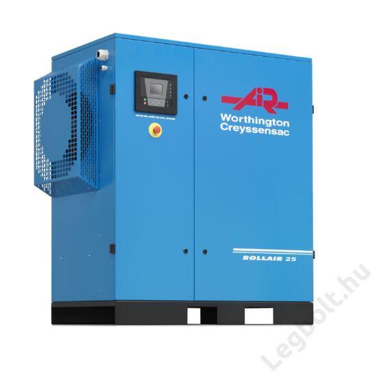 Worthington Creyssensac RLR 20V frekvenciaváltós csavarkompresszor